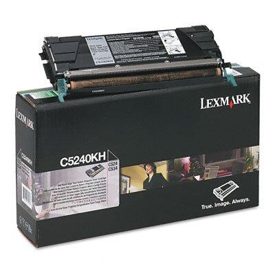 Lexmark International C5240KH High-Yield Toner, 8000 Page-Yield