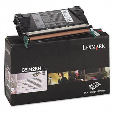 Lexmark International C5242KH High-Yield Toner, 8000 Page-Yield