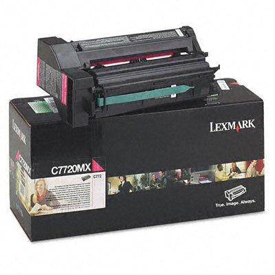Lexmark International C7720MX Extra High-Yield Toner, 15000 Page-Yield