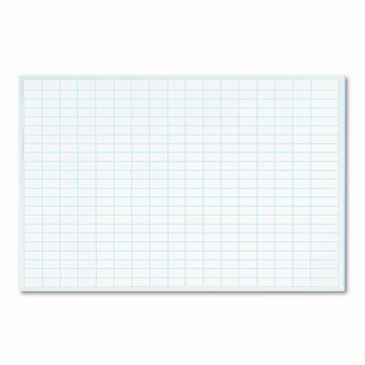 Magna Visual, Inc. Planning Wall Mounted Whiteboard, 2' x 3'