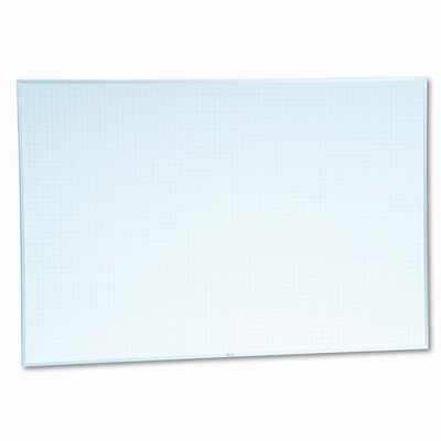 Magna Visual, Inc. Magna Visual MagnaWite Schedule Planning Wall Mounted Graphic/Grid Whiteboard, 4' x 6'