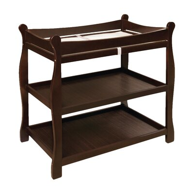 Badger Basket Sleigh Style Baby Changing Table 02211