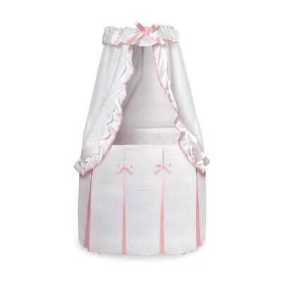 Majesty Baby Bassinet with Canopy by Badger Basket