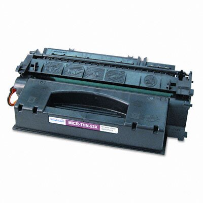 MicroMICR Corporation Print Solutions 53Xm Compatible High-Yield Micr Toner