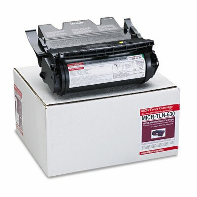 MicroMICR Corporation MICR Toner for T630, T632, T634, Equivalent to LEX-12A7562