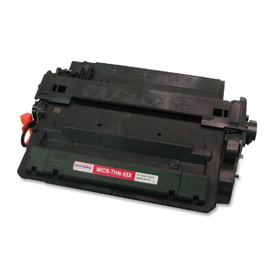 MicroMICR Corporation MICRTHN55X Compatible High-Yield Toner, 12,500 Page Yield, Black