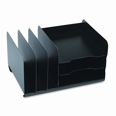 MMF Industries Steelmaster Vertical/Horizontal Combo Organizer