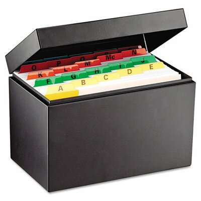 MMF Industries Steelmaster Index Card File Holds 900 5 X 8 Cards