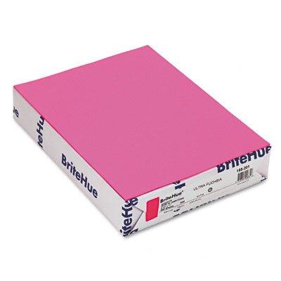 Mohawk Fine Papers Brite-Hue Color Copy/Laser/Inkjet Paper, Ultra Fuchsia, 20lb, Letter, 500 Sheets