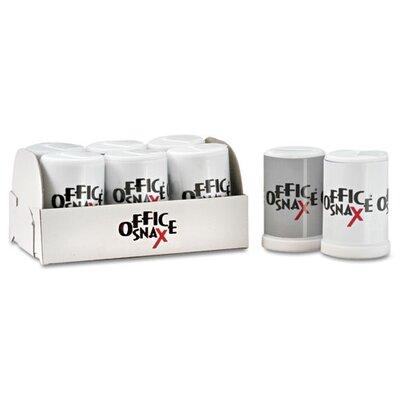 Office Snax Ragold Mini Condiment Set, .4 oz Salt, .17 oz Pepper, Six-Shaker Set, 1 Each