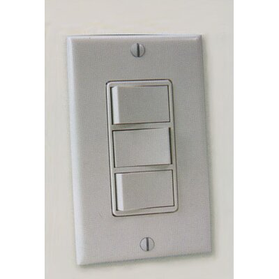 Heat Ventilation Light Wall Control by Craftmade