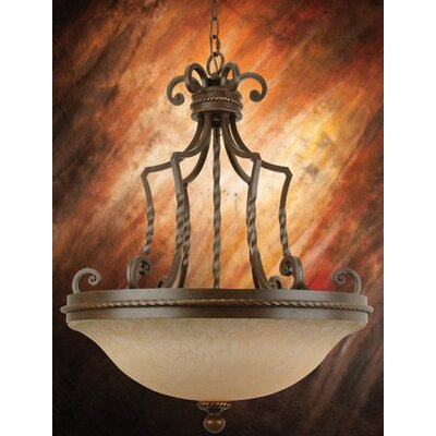 Craftmade Riata 3 Light Inverted Pendant