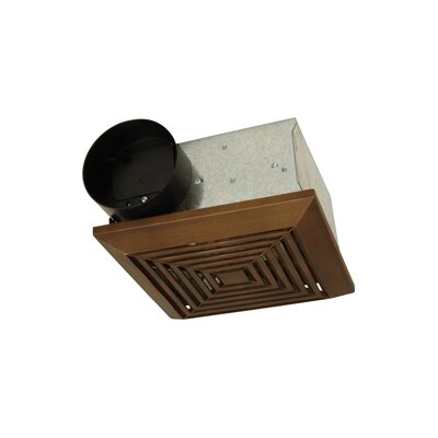 50 CFM Bathroom Ventilation Fan in Bronze by Craftmade