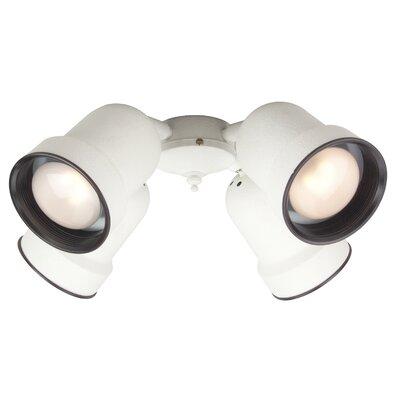 Craftmade Economy Four Light  Bowl Ceiling Fan Light Kit