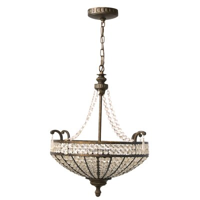 Craftmade Cortona 3 Light Large Inverted Pendant