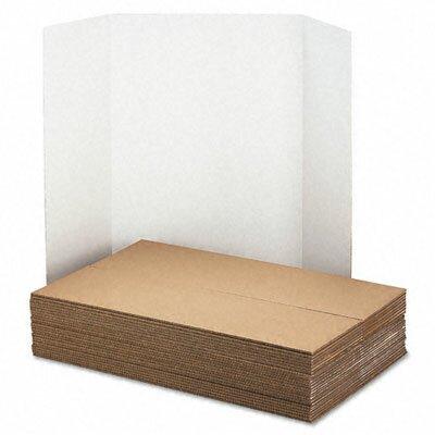 Pacon Corporation Spotlight Presentation Board and Header, 48 x 36, White