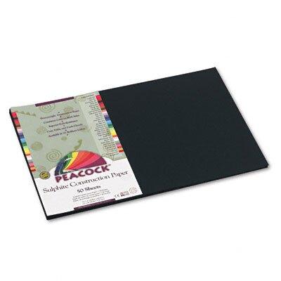Pacon Corporation Peacock Sulphite Construction Paper, Rigid, 12 x 18