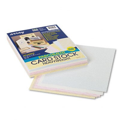Pacon Corporation Array Card Stock, 65 Lbs., Letter, 100 Sheets/Pack