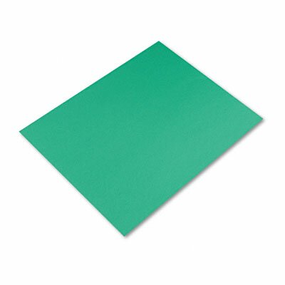Pacon Corporation Colored Four-Ply Poster Board, 28 x 22, Kelly Green, 25 per Carton