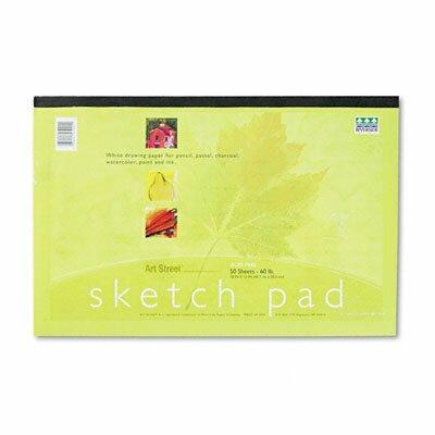 Pacon Corporation Art1St Sketch Pad, 50 Sheets/Pad