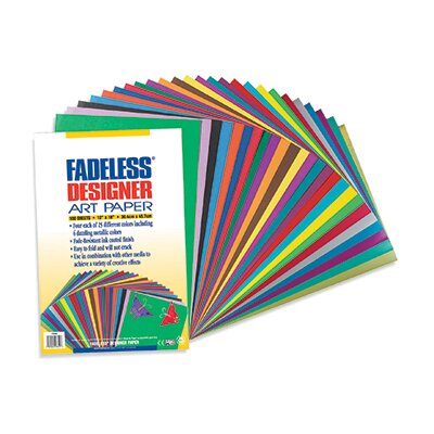Pacon Corporation Fadeless Designer Paper Assorted