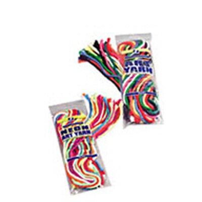 Pacon Corporation Art Yarn 5yds 10 Clrs