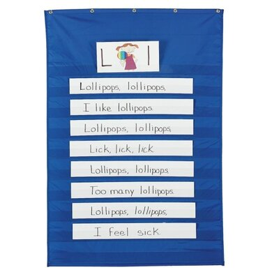 Standard Word/Sentence Strip Pocket Chart by Pacon Creative Products