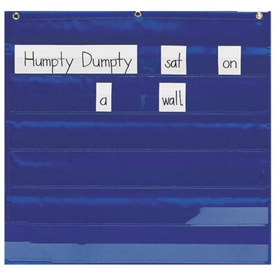 Mini Word/Sentence Pocket Strip Pocket Chart by Pacon Creative Products