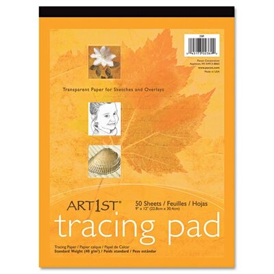 Pacon Corporation Art1St Parchment Tracing Paper, 9 X 12, 50 Sheets