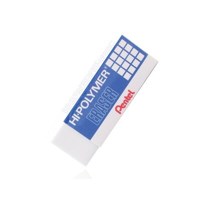 Pentel of America, Ltd. Hi-Polymer Medium Size Block Eraser, Non-Hazardous Elastomer Compound