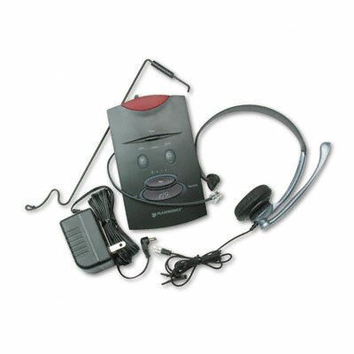 Plantronics System Over-The-Head Telephone Headset with Noise Canceling Microphone