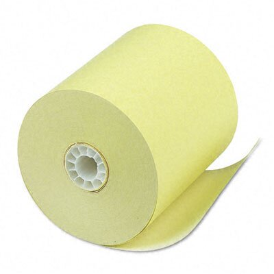 PM Company Single-Ply Thermal Cash Register / Pos Roll, 50/Carton