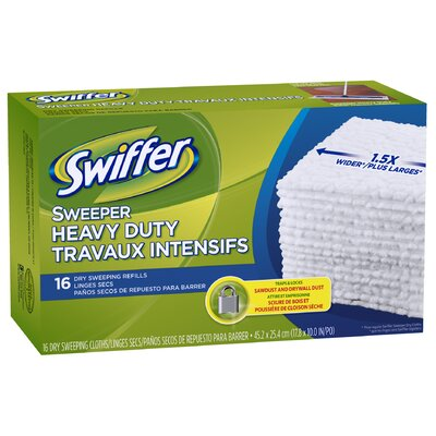 Procter & Gamble Commercial Swifter Sweeper Professional Cloths (Pack of 16)