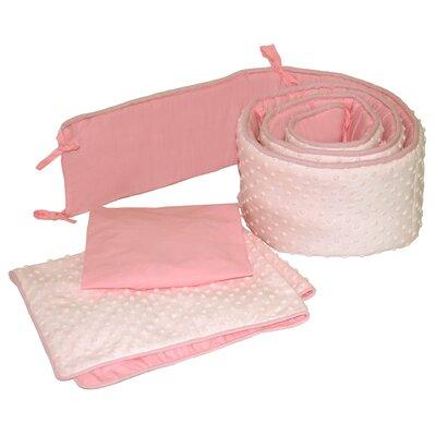 Dimple Velour 3 Piece Cradle Bedding Set by Tadpoles