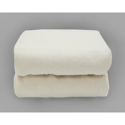 Organics Cradle Fitted Sheets in White by Tadpoles