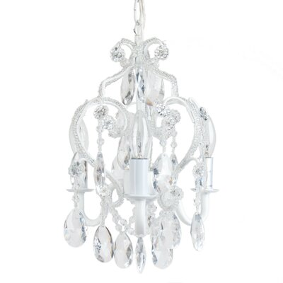 3 Light Mini Chandelier Product Photo