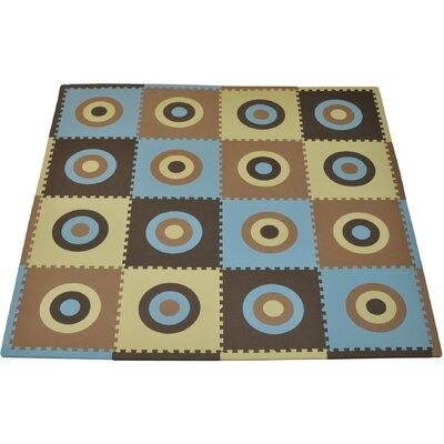 Tadpoles Tadpoles Circles Squared Playmat Set