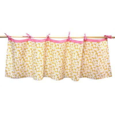 "Tadpoles Field of Flowers 60"" Curtain Valance"