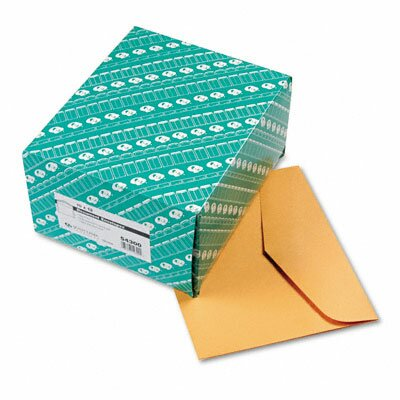 Quality Park Products Open Side Booklet Envelope, Traditional, 100/Box