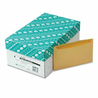 "Quality Park Products Paper File Jackets, 5"" x 8 1/8"", 2 Pt. Tag, Buff, 500/Bx"