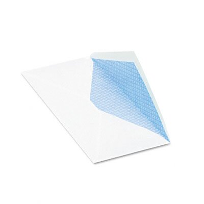 Quality Park Products Security Tinted Business Envelope, Contemporary, #10, White, 500/box