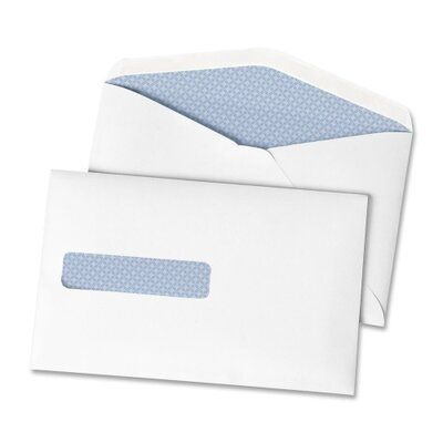 "Quality Park Products Postage Saving Envelopes, Window, 6""x9-1/2"", 500 per Box, White"