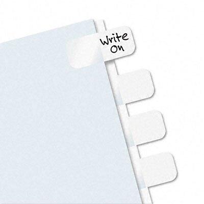 Redi-Tag Corporation Side-Mount Self-Stick Plastic Index Tab, 416/Pack