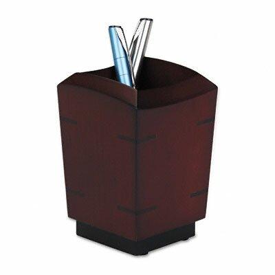 Rolodex Corporation Executive Woodline II Pencil Cup
