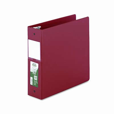 Clean Touch Antimicrobial Locking Binder, 11 X 8-1/2, 3