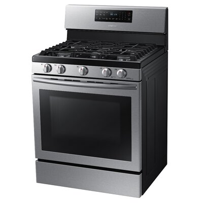 5.8 Cu. Ft. Gas Convection Range in Stainless Steel Product Photo