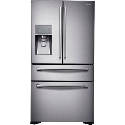 13 cu. ft. French Door Refrigerator in Stainless Steel with Sparkling Water Dispenser Product Photo
