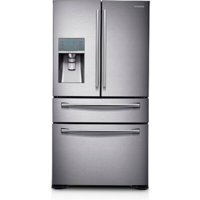 16.41 cu. ft. French Door Refrigerator in Stainless Steel with FlexZone™ Drawer Product Photo