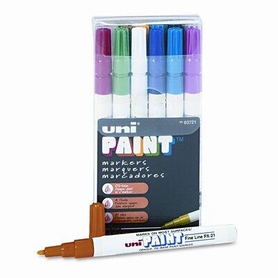 Sanford Ink Corporation Uni-Paint Markers, 12/Set