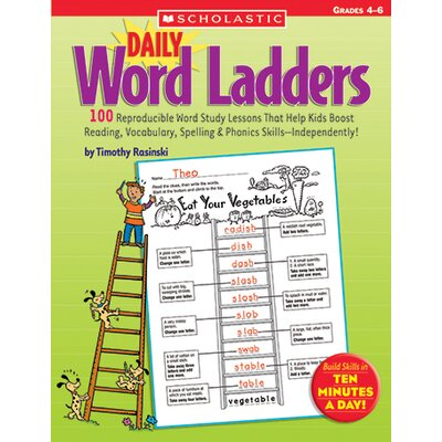 Scholastic Daily Word Ladders Book